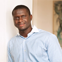 Michael Mendy, IEMBA Student from Gambia