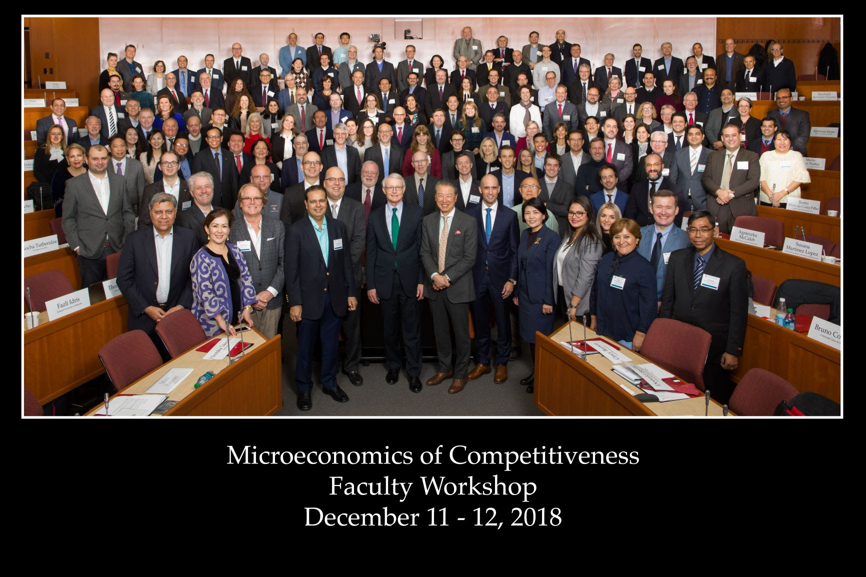 ISM Professors Attend Microeconomics of Competitiveness (MOC