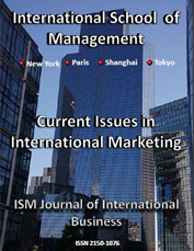 ism journal of international business v1 issue 3 cover