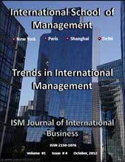 ism journal of international business v1 issue 4 cover